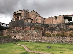 Um templo inca