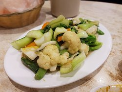 Mix Veg in Garlic Sauce