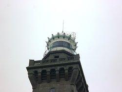 Le sommet du phare