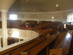 Upstairs in the Round Church, Bowmore.