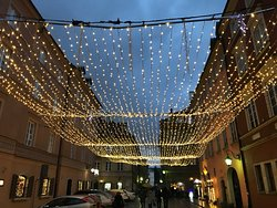 Warsaw Old Town during Christmas time