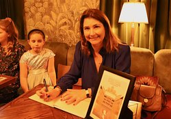 Book launch for my children's book 'Percival and the Hall of Mirrors'