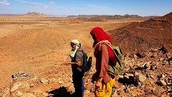 Fossil hunting in the Kem Kem beds