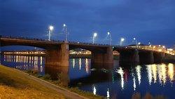 Тверь. Нововолжский мост, 19 октября 2019 года