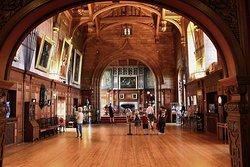 Bamburgh castle great hall