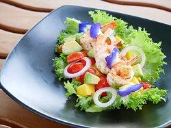 Best Selling! Grilled Prawn Salad 280THB