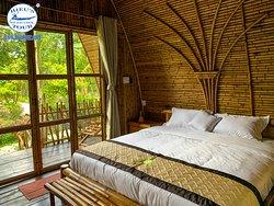 Delux bungalow room eco-homestay Hieutour Co., Ltd