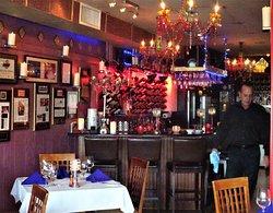 Colorful Bar Area