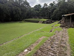 The great plaza of Quirigua.  Acoustics are perfect.