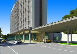 Holiday Inn Express Kota Kinabalu City Centre Driveway
