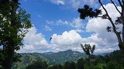 Not Ravana but someone else is flying.