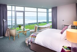 Wild Atlantic views from one of our Tranquility Suites