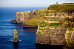 The spectacular Cliffs of Moher only a 20 minute drive by car from the Armada Hotel