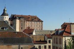 panoramica sul castello