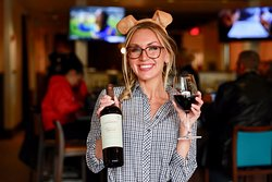 1/2 priced bottles of wine all day every day.