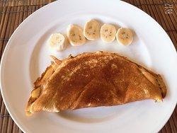 Home made pancake