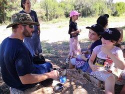 picnic with Turkish coffee