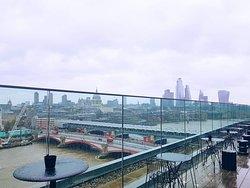 Stylish Rooftop Bar