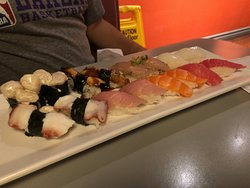 More sushi and sashimi