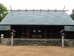 落ち着いた雰囲気の神社