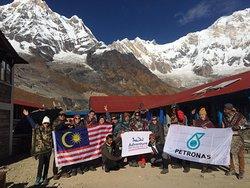 Annapurna Base Camp Nepal .
