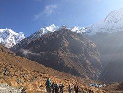 way back to Annapurna Base Camp when we did the Base Camp trek.