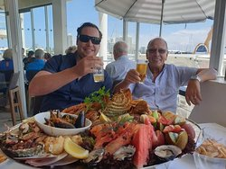 Seafood platter to die for!