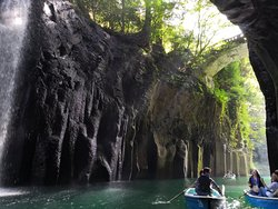 Takachiho gorge and aso