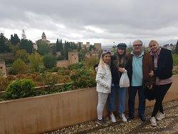 #Visita Privada Alhambra  Noviembre 2019 Familia Millán
