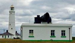 The fog horn and the High Lighthouse