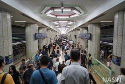 중국 베이징 지하철 2019.08.28
