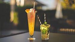 """Cocktail frais réalisés """"minute"""" par notre Barman"""
