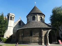 A rare find in England - I look forward to the Temple Church in London in a month