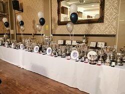 Awards night set up