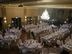 Awards night set up for more than 200