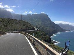 GC 200 Agaete - La Aldea de San Nicolas (North Western coastal road)