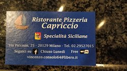 Flavors of Sicily in Milan.