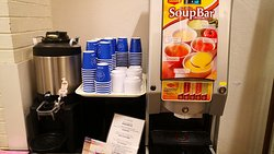 Coffee and soup machine