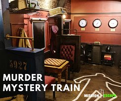 It's a race against time as you search for clues to catch the culprit before the train reaches it's final destination and the killer gets away for good! Difficulty Level: 9/10