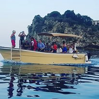 Boat Excursion at Mazzaro Bay