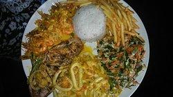 Seafood fresh...