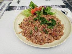 Um fantástico arroz de polvo