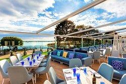 Christchurch harbour hotel upper deck