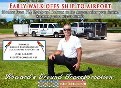 Howard's Ground Transportation for Airports and Cruises