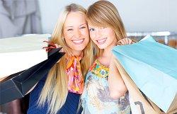 Shoppingfrauen
