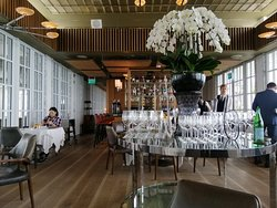 Spago Dining Room by Wolfgang Puck