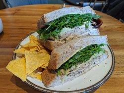 Mr. Bean sandwich