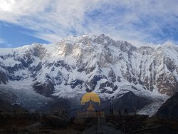 Majestic Annapurna view..Simply wow !!!