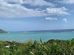 気軽に眺められる綺麗な海
