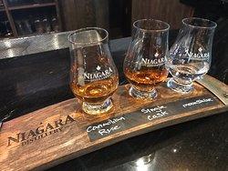 New distillery in Niagara Falls, Canada